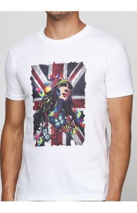 Мужская футболка с принтом Fespa girl