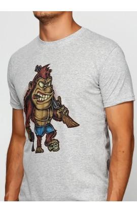 Мужская футболка с принтом  Киллер Конг