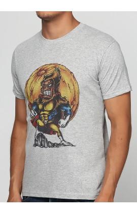 Мужская футболка с принтом Super Monkey