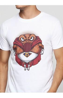 Мужская футболка с принтом Super Ponut