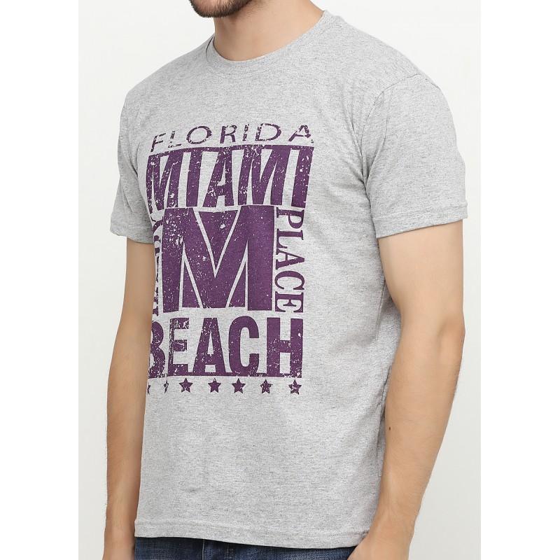 Мужская футболка с принтом Флорида
