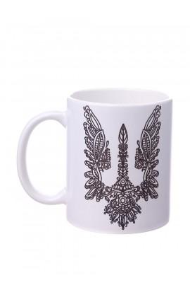 Чашка с принтом Герб 3