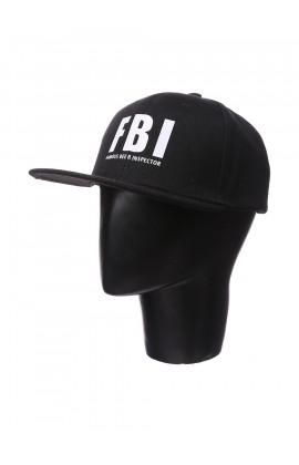 Кепка Premium Snap Back с принтом ФБИ