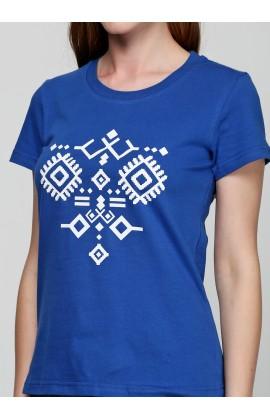 Женская футболка с принтом Орнамент