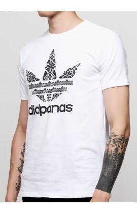 Мужская футболка с принтом  Дед