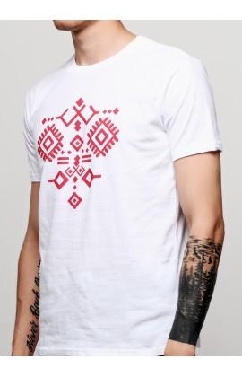 Мужская футболка с принтом Орнамент К